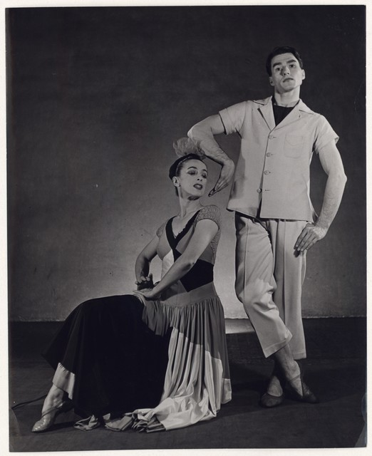[ Martha Graham and Erick Hawkins in Punch and the Judy, No. 2]