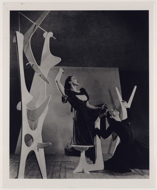 [ Martha Graham and May O'Donnell in Heriodiade, No. 2]