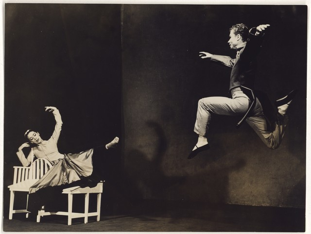 [ Martha Graham and Merce Cunningham in Letter to the World]