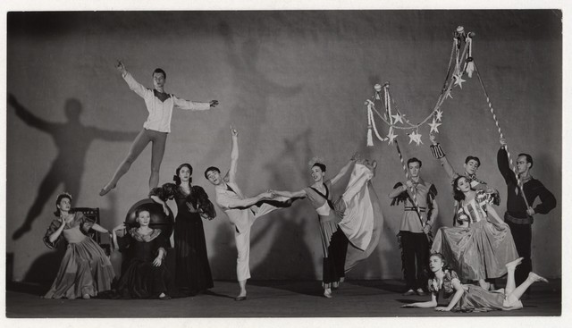 [ Martha Graham, Erick Hawkins and Company in Punch and the Judy]