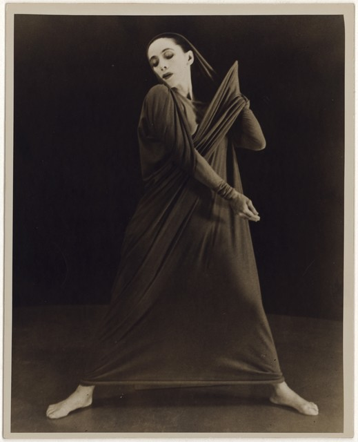 [ Martha Graham in Lamentation, No. 19]