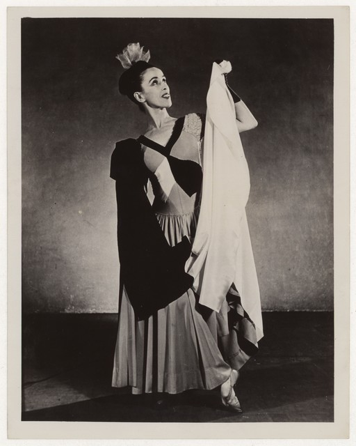 [ Martha Graham in Punch and the Judy]