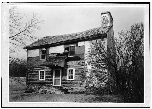 Martin's Corner House, Cedar Knoll Road (West Caln Township), Martins Corner, Chester County, PA