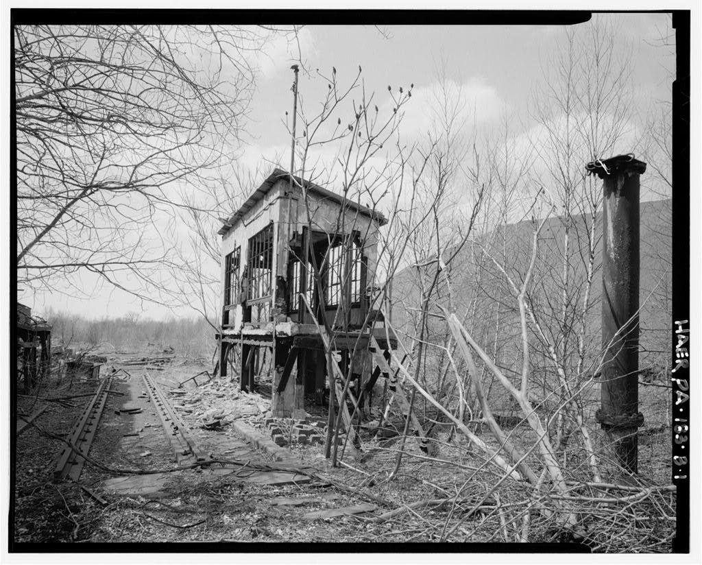 Marvine Colliery, Heavy Rail Scales Office, West side Boulevard Avenue, between East Parker Street & Route 380, Scranton, Lackawanna County, PA