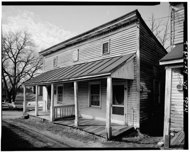 Mary Cecil Cantrill No. 6 House, 107-108 Post Office Alley, Georgetown, Scott County, KY