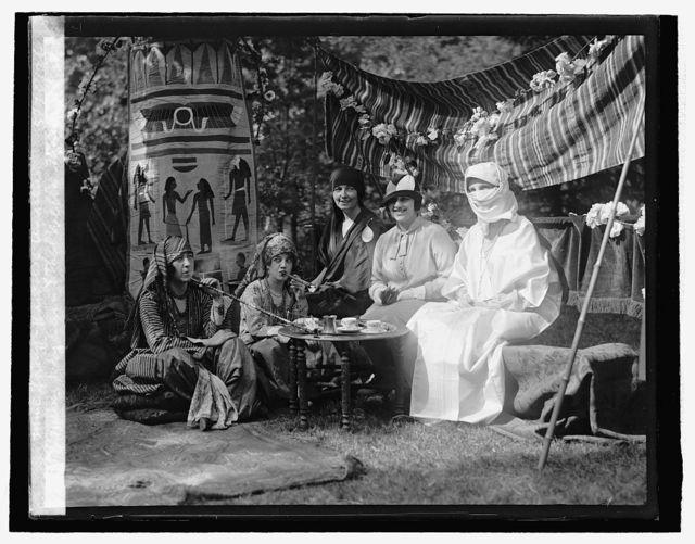 Mary Hayden, Ethel Wells, Mrs. Imbric, Mme. Sarny, Baroness Ungren, 5/20/26
