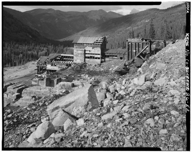 Mary Murphy Mining Complex, Mill & Tailings, Iron City (historical), Chaffee County, CO