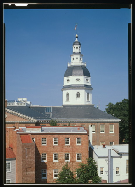 Maryland State House, State Circle, Annapolis, Anne Arundel County, MD