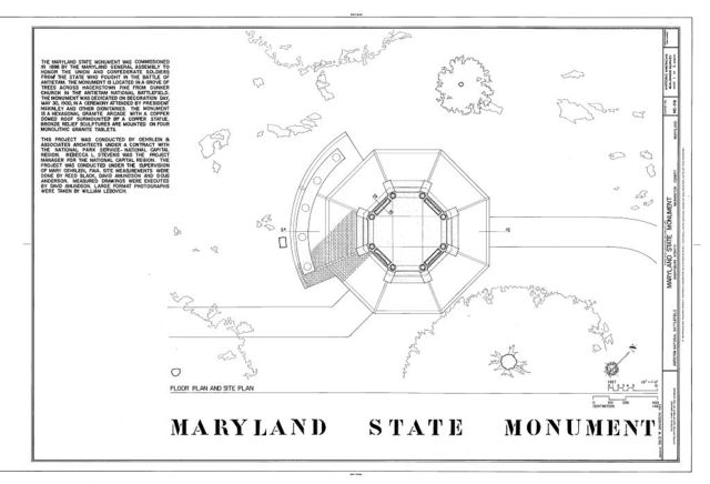 Maryland State Monument, Sharpsburg, Washington County, MD