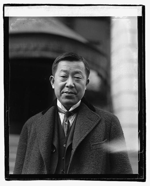 Masanao Hannihara, Vice Minister for Foreign Affairs of Japan since the illness of Baron Shidehara, head of the Japanese delegation at the arms conference, 11/30/21