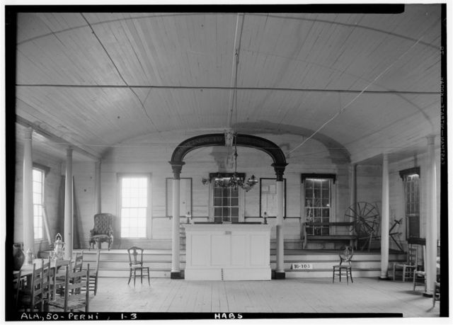 Masonic Hall, U.S. Highway 84 (moved from AL, Claiborne), Perdue Hill, Monroe County, AL