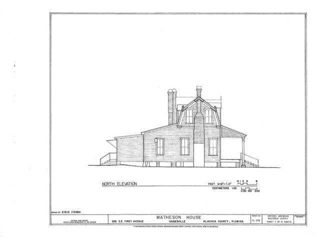 Matheson House, 528 Southeast First Avenue, Gainesville, Alachua County, FL