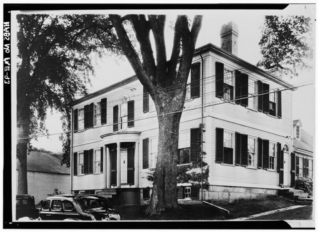 Matthew Cottrill House, Main Street (U.S. Route 1A), Damariscotta, Lincoln County, ME