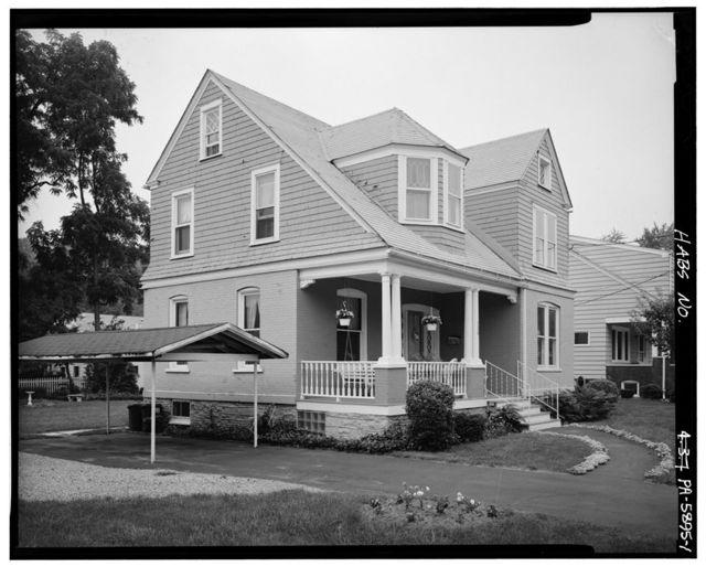 Maude Closson Talley House, 206 Logan Boulevard, Altoona, Blair County, PA