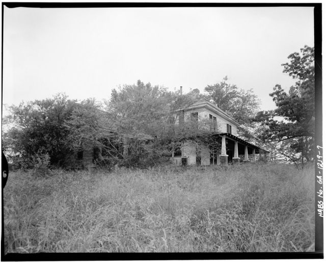 Mauney Homestead, State Route 129, Cleveland, White County, GA