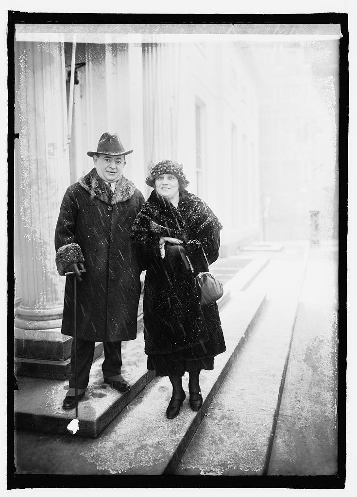 Max K. Malini & wife, 1/11/22