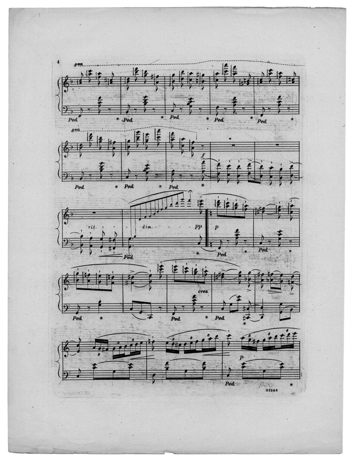 May flowers, op. 6, no. 4
