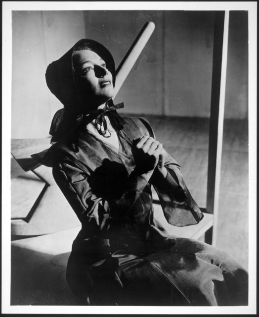 May O'Donnell as the Mother in the first production of Appalachian Spring, 1944