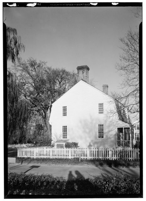 McCandlish House, Francis Street, Williamsburg, Williamsburg, VA