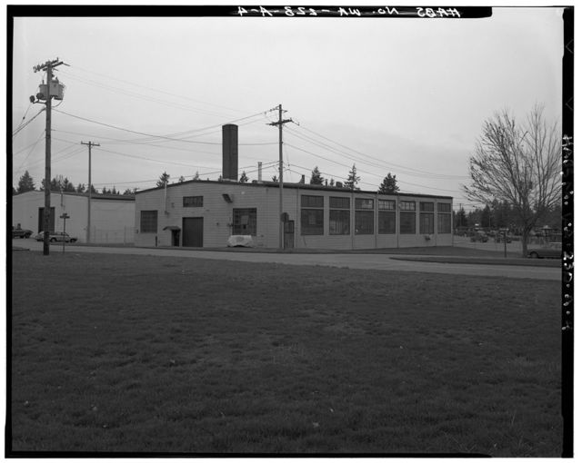 McChord Air Force Base, Building No. 724, Tacoma, Pierce County, WA