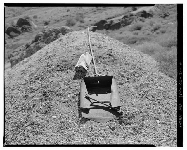 McCormick Group Mine, Mercury Retort, East slope of Buckskin Mountain, Paradise Valley, Humboldt County, NV