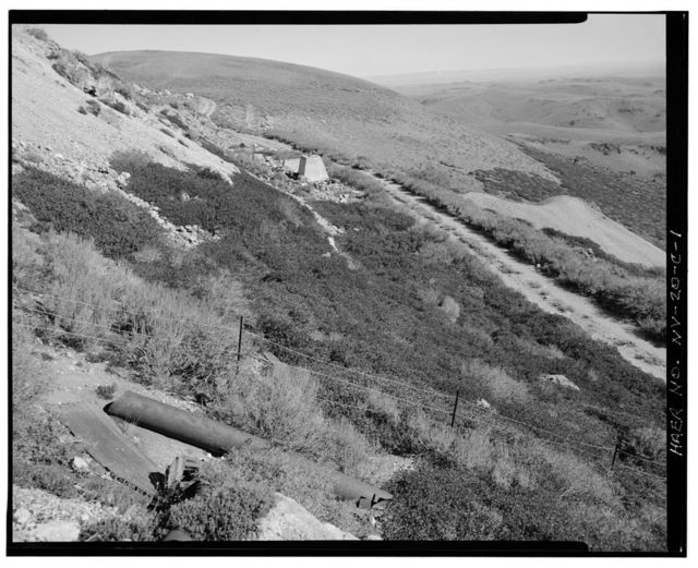 McCormick Group Mine, Paradise Mill, East slope of Buckskin Mountain, Paradise Valley, Humboldt County, NV