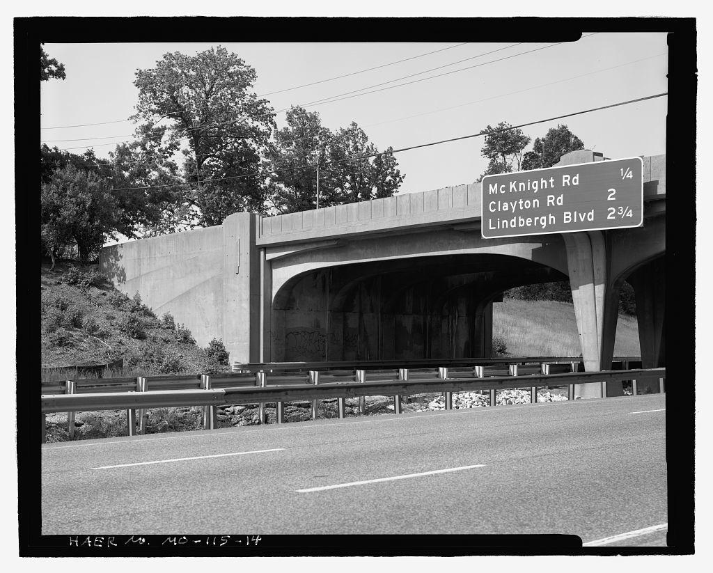 McCutcheon Street Bridge, Spanning Interstate 64, Saint Louis, Independent City, MO