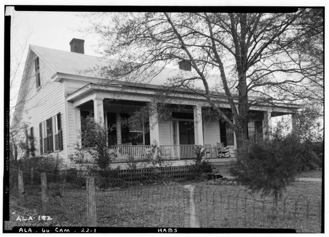 McMillan House, Broad Street (State Road 28), Camden, Wilcox County, AL