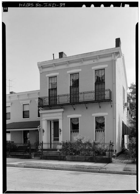 McNaughton House, 416 East Second Street, Madison, Jefferson County, IN