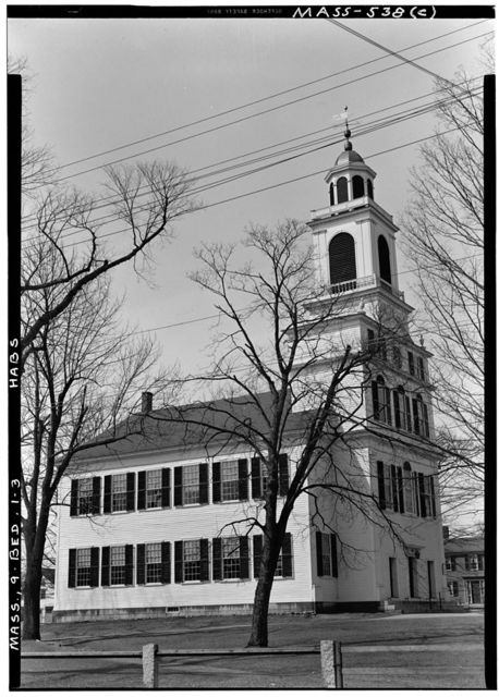 Meetinghouse of First Parish (Unitarian), Bedford, Middlesex County, MA
