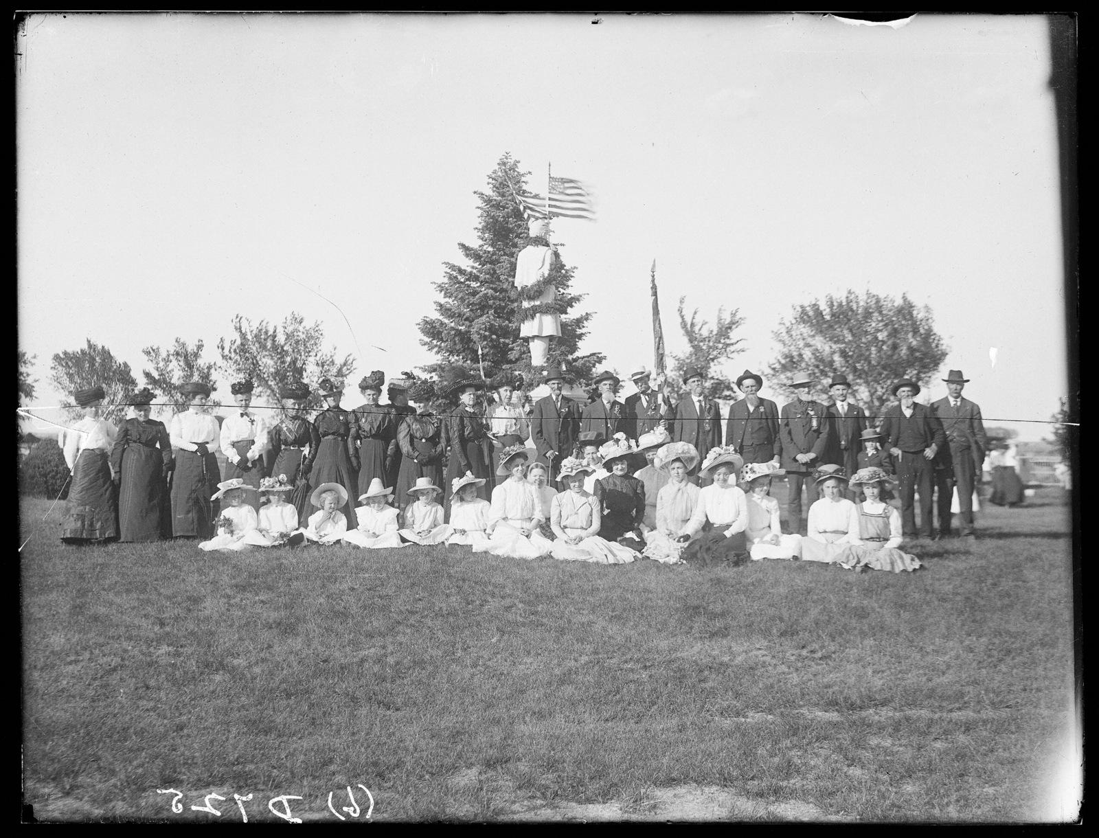 Memorial Day services, Bayard, Morrill County, Nebraska