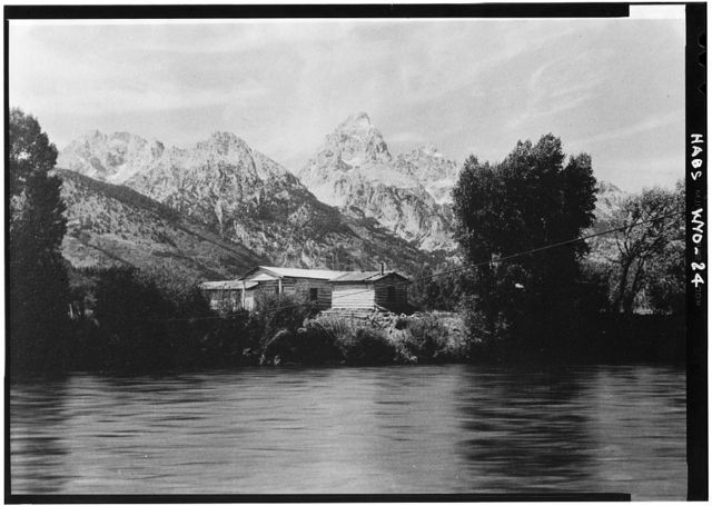 Menor's Ferry (Museum), Snake River, Moose, Teton County, WY