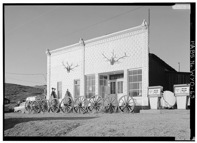 Mercantile Bar, Atlantic City, Fremont County, WY