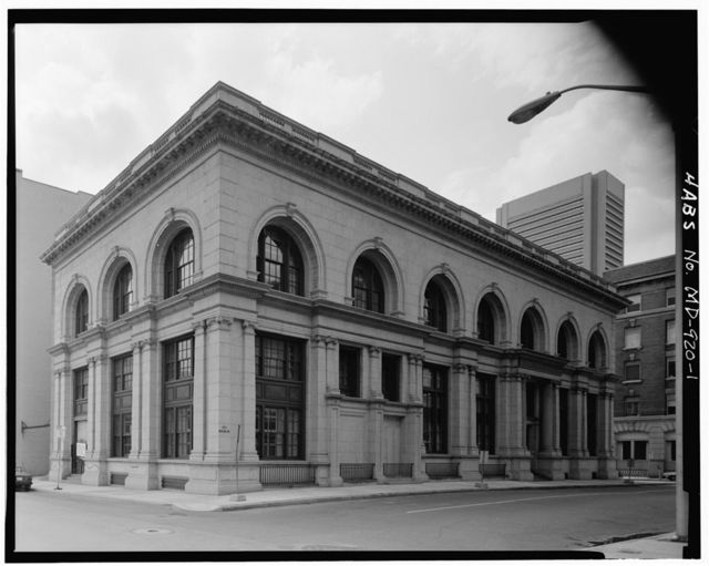 Merchant's National Bank, 301 Water Street, Baltimore, Independent City, MD