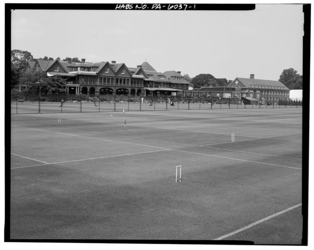 Merion Cricket Club, Montgomery Avenue & Grays Lane, Haverford, Montgomery County, PA