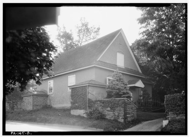 Merion Friends Meeting House, 615 Montgomery Avenue (changed from Montgomery Avenue & Meetinghouse Lane), Narberth, Montgomery County, PA