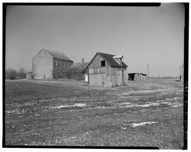 Merkel Farmstead, Corncrib, 8570 Louella Lane, south side of U.S. Route 64, Shiloh, St. Clair County, IL