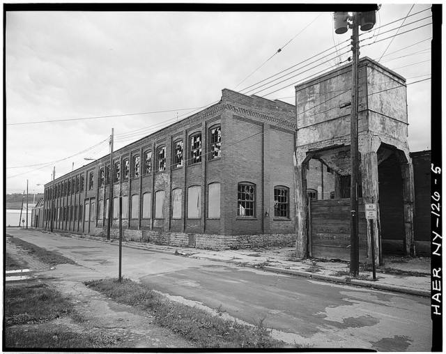 Merrill Silk Mill, 233 Canisteo Street, Hornell, Steuben County, NY