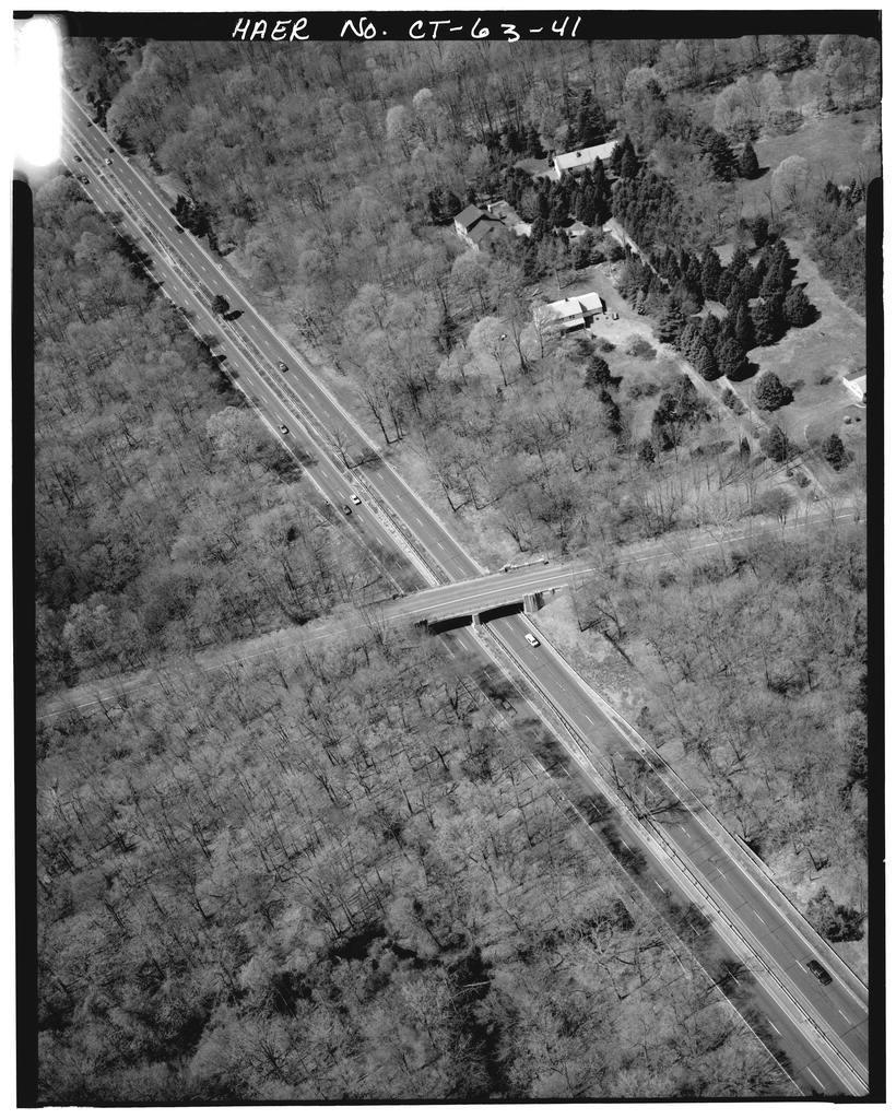 Merritt Parkway, Beginning in Greenwich & running 38 miles to Stratford, Greenwich, Fairfield County, CT