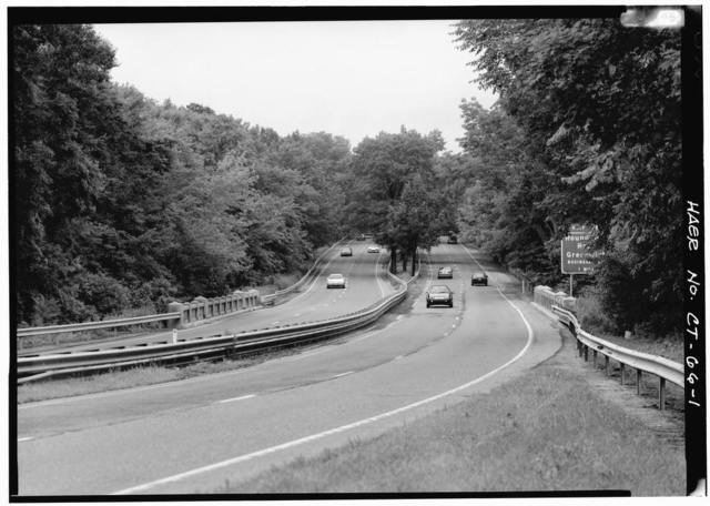 Merritt Parkway, Glenville Water Company & Brook Bridge, Spanning Glenville Water Company & brook, Greenwich, Fairfield County, CT