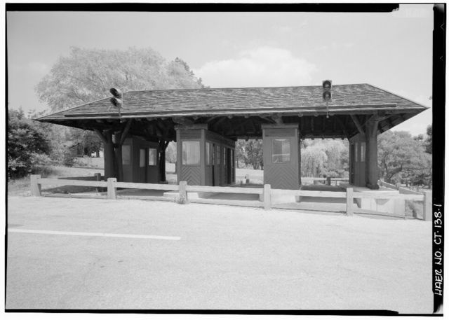 Merritt Parkway, Toll Booth, Boothe Memorial Park, Stratford, Fairfield County, CT