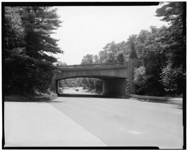 Merritt Parkway, Wilton Road Bridge, Spanning Wilton Road/Route 33 at I-41, Westport, Fairfield County, CT