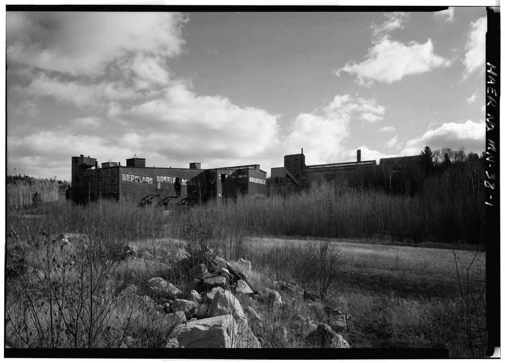 Mesabi Iron Company, Magnetic Concentration Plant, Babbitt, St. Louis County, MN