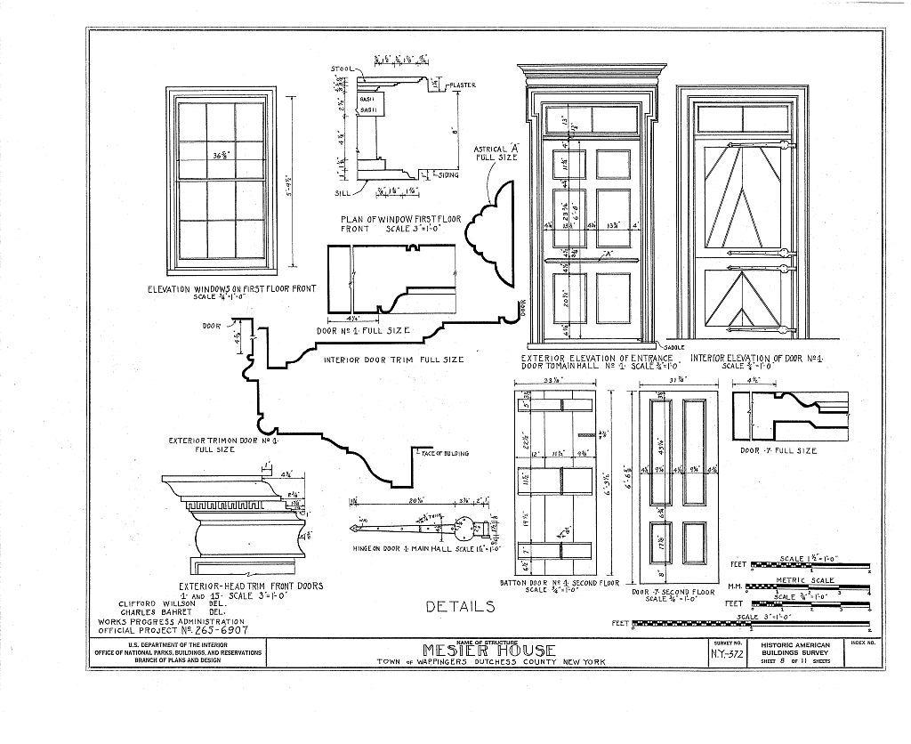 Mesier House, Mesier Park, Mesier Avenue, Wappingers Falls, Dutchess County, NY