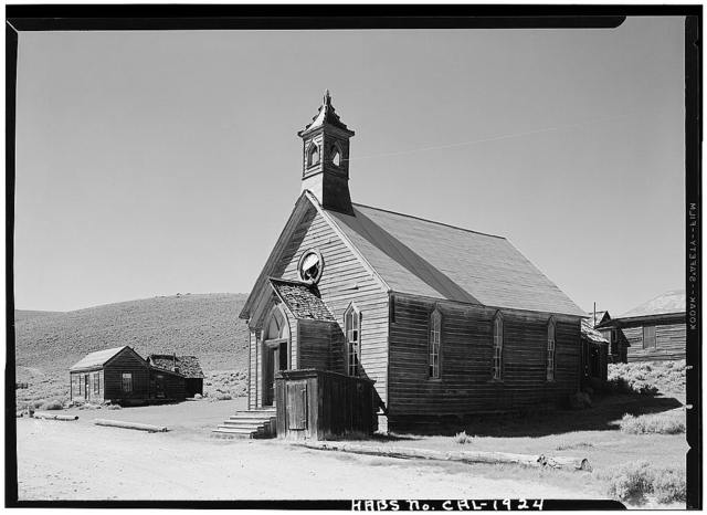 Methodist Church, Green & Fuller Streets, Bodie, Mono County, CA
