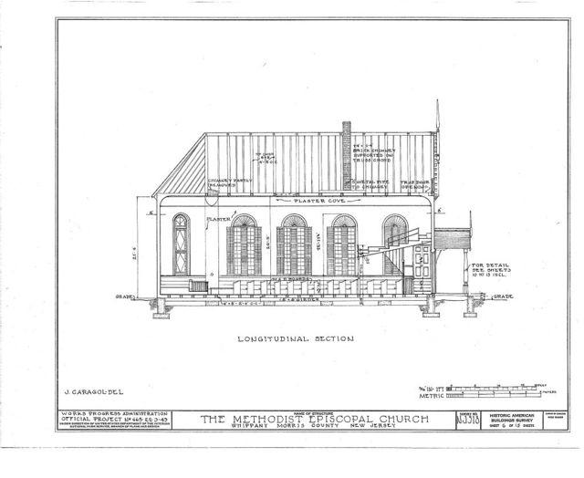 Methodist Episcopal Church, Route 10, Troy Hills Road, Whippany, Morris County, NJ