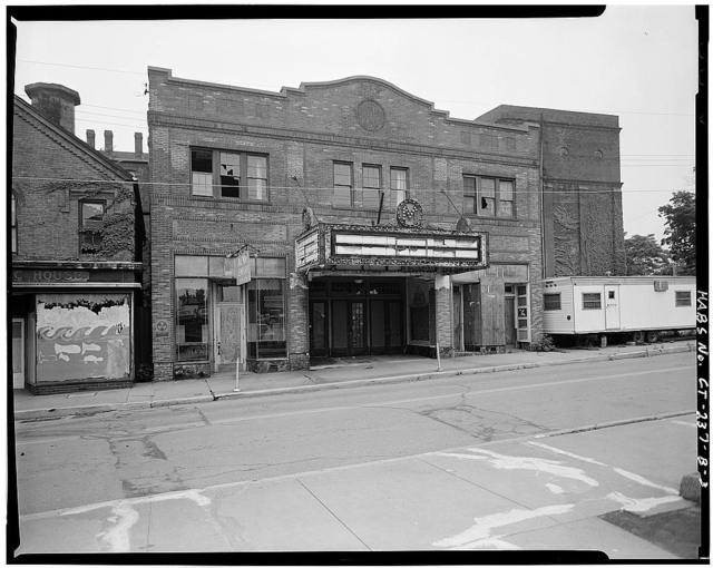Metro South Historic District, Middlesex Theater, 109-111 College Street, Middletown, Middlesex County, CT