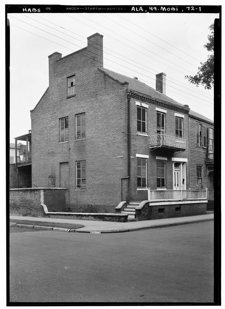Meyer Goldsmith House, 408 Conti Street, Mobile, Mobile County, AL