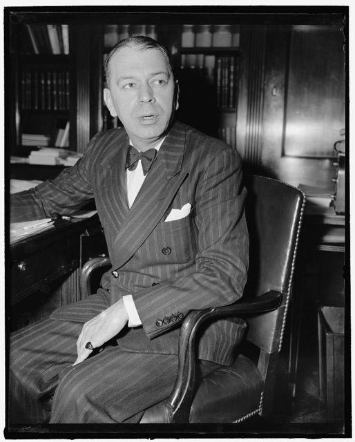 Michigan Congressman. Washington, D.C., June 17. A new informal picture of Rep. Clarence J. McLeod, Republican of Michigan