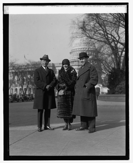 Mickey Walker and wife with Rep. Britten at Capitol, 2/5/25